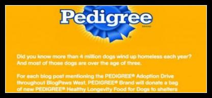 Pedigree Postcard